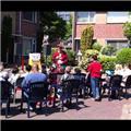 Plein activiteit Nicolaas Stonestraat  2011