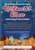 Gezellige busreis Kerstmarkt Essen op zaterdag 8 december!